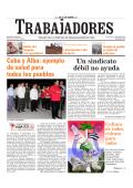 Lunes 20 de octubre de 2014 - Periódico Trabajadores