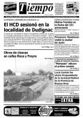 El HCD sesionó en la localidad de Dudignac - Diario Tiempo Digital