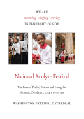 View Service leaflet - Washington National Cathedral