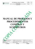 MANUAL DE PROCESOS Y PROCEDIMIENTOS - Intranet