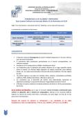 Distribución Examen Internado Médico Quinto Ordinario - UNAM