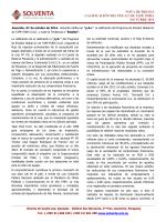 07 Oct 2014 - Solventa SA