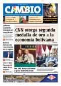 CNN otorga segunda medalla de oro a la economía - Cambio