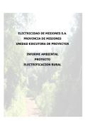 Evaluación de Impacto Ambiental y Social - Prosap