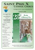 2014-10-12 - St. Pius X Catholic Church