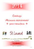Piensos para mamiferos-tarifas2014 - Saint-Laurent