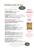 Descárgate el menú de hoy - Daily Meal Alcobendas