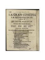 La mudanza en el amor - Biblioteca Virtual Miguel de Cervantes