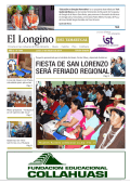 fiesta de san lorenzo será feriado regional - Diario Longino