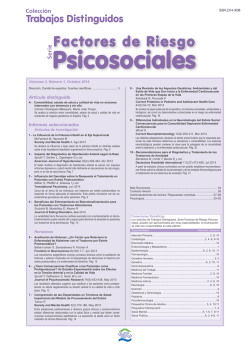 Psicosociales - Siicsalud
