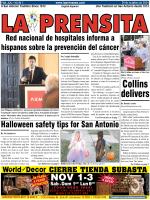 Collins delivers - La Prensa De San Antonio