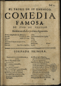 El padre de su enemigo - Biblioteca Virtual Miguel de Cervantes