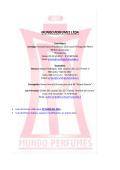 MUNDO PERFUMES LTDA