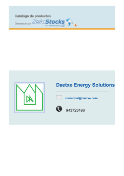 Daetxe Energy Solutions