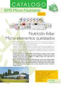 Catalogo Espana NF - BMS Micro-Nutrients