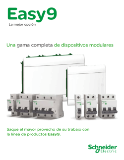 Oferta de Easy 9 en Colombia - Schneider Electric