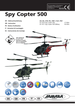 Spy Copter 500 - ELV