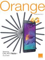 Revista Noviembre 2014 - grupo digital phone - Distribuidor ORANGE