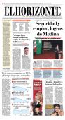 Seguridad y empleo, logros de Medina - El Horizonte