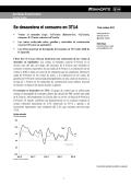 Se desacelera el consumo en 3T14 - Casa de Bolsa Banorte Ixe
