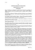 No. MINISTERIO DE INDUSTRIAS Y PRODUCTIVIDAD