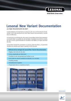 Lesonal New Variant Documentation - territoriohella.es