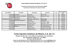 Compresores Wabco - turbo injection solutions de mexico