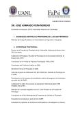 DR. JOSÉ ARMANDO PEÑA MORENO - Facultad de Psicología