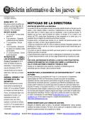NOTICIAS DE LA DIRECTORA - PS 295