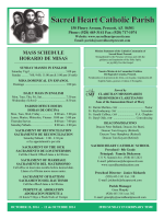 Sacred Heart Catholic Parish - Seek And Find
