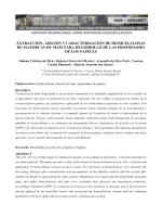 extracción, adición y caracterización de hemicelulosas de mazorcas