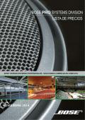 Lista Precios Bose Profesional-Noviembre 2014