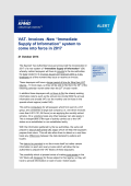 "VAT. Invoices -New ""Immediate Supply of Information - KPMG"