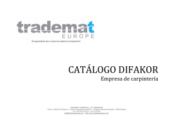 CATÁLOGO DIFAKOR - Trademat Europe Auctions