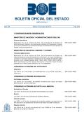 Sumario del BOE núm 255 de Martes 21 de octubre de 2014 - BOE.es