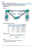 Práctica de laboratorio: Resolución de problemas de EtherChannel