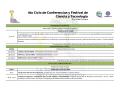 Programa Semana Nacional de Ciencia y Tecnología - Universidad