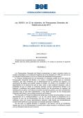 Ley 39/2010, de 22 de diciembre, de Presupuestos - BOE.es