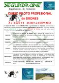 CURSO PILOTO PROFESIONAL de DRONES - Segurdrone