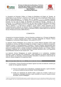 Proceso de Selección de Docentes y Técnicos Docentes - Cobat