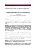 Ley publicada en el Periódico - Unidad de Transparencia y Acceso