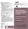 VI Curso de Experto Universitario en Derecho Concursal y