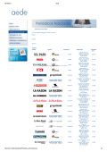Aede riodicos_Asociados.asp 1/3 Periódicos asociados