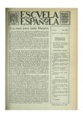 Escuela española - Año XX, núm. 1033, 12 de agosto de 1960