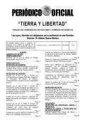 PE ERI IÓD DICO O O FIC CIAL L - Periódico Oficial - Morelos