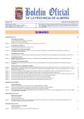 SUMARIO - Diputación Provincial de Almería