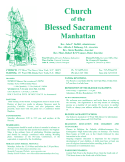 Church Blessed Sacrament - Seek And Find