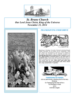 St. Bruno Church - E-churchbulletins.com