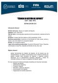 Información General. - Escuela de Educación Física - Universidad
