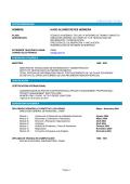 curriculum vitae nombre - Páginas Personales UNAM